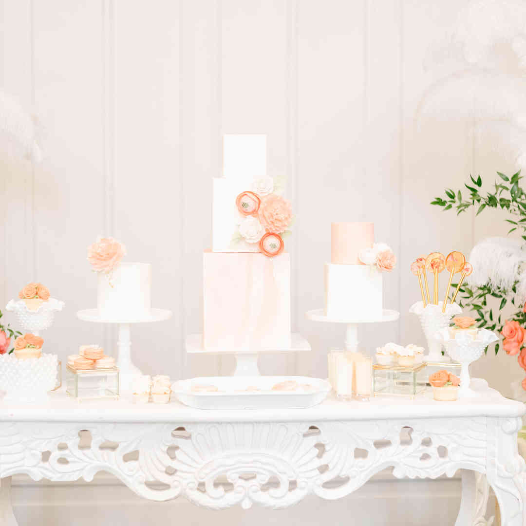 Elegant Neutrals with a Touch of Coral 1
