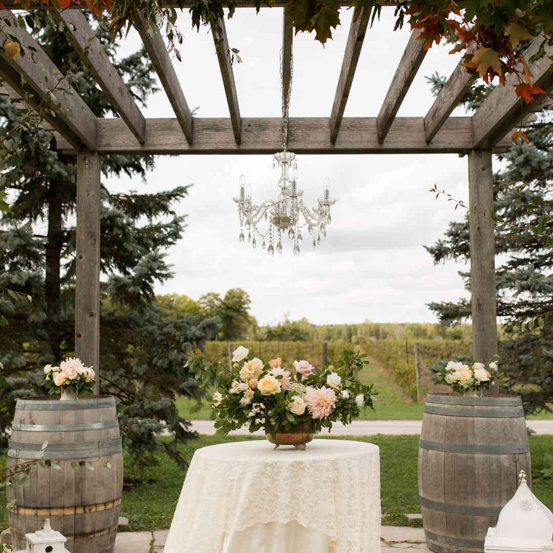 Late Summer Outdoor Wedding