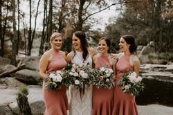 Jodie  Wedding Bathurst florist devil may care