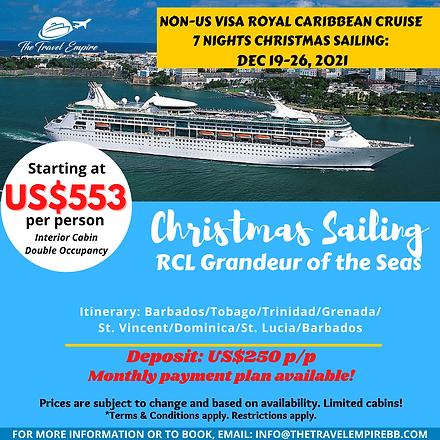 Copy of Royal Caribbean Cruise Template