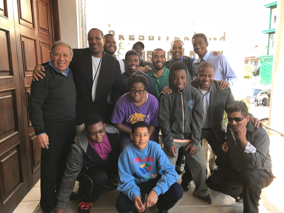 ambassadors Fellowship Men's Team Photo.
