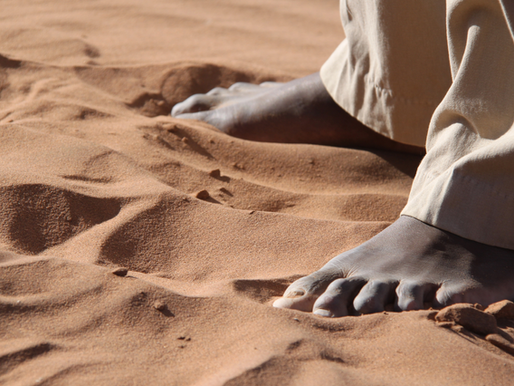 A Barefoot Encounter with God?