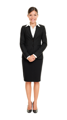 30s Asian Female Black Suit.png