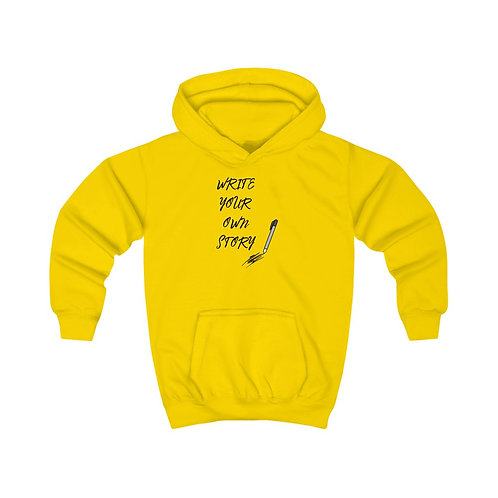 Write Your Own Story Kids Hoodie