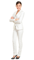 Asian Woman White Suit.png