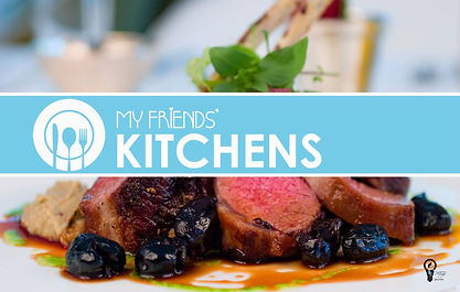 My Friends' Kitchens Graphic o by TURP