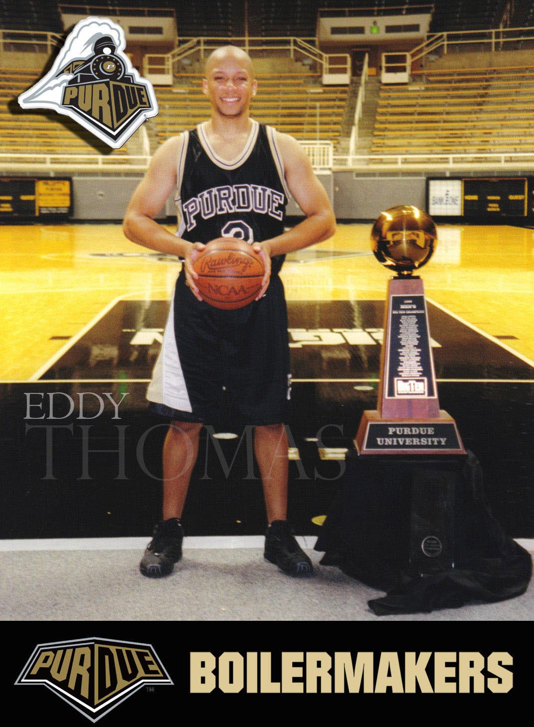 Eddy Paul Thomas Purdue Basketball 1996