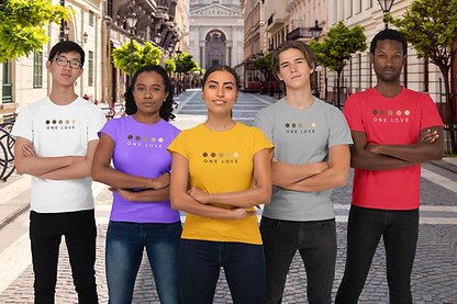 mockup-of-a-diverse-esport-team-wearing-