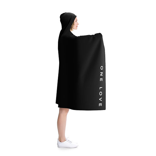 One Love Hooded Blanket
