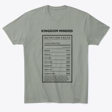 Mens' Kingdom Minded Comfy Tee