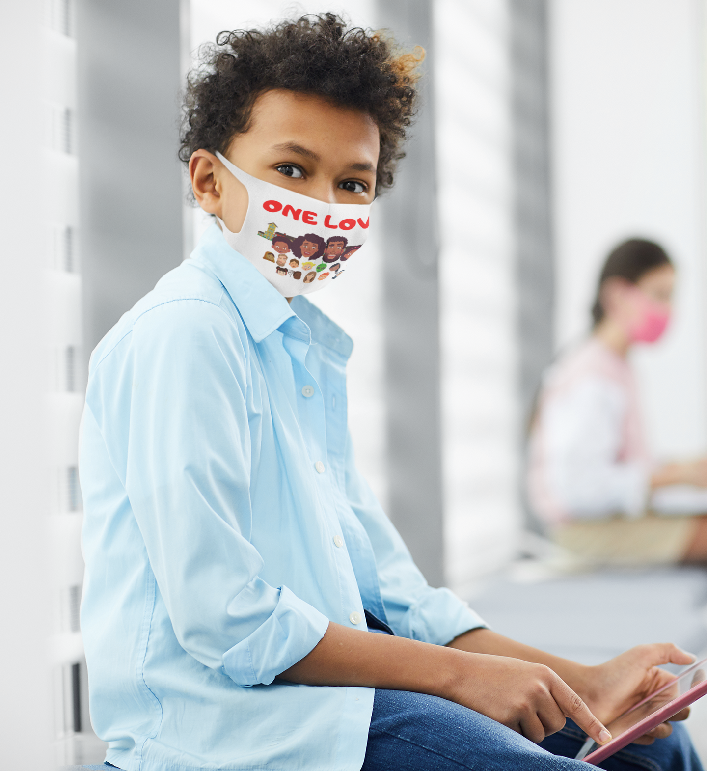 face-mask-mockup-of-a-boy-using-a-tablet
