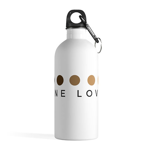 One Love Stainless Steel Water Bottle