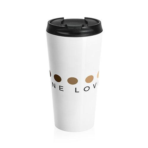 One Love Stainless Steel Travel Mug
