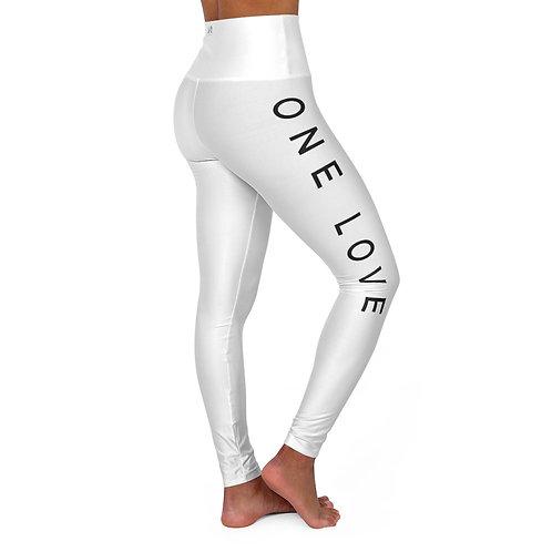 One Love High Waisted Yoga Leggings