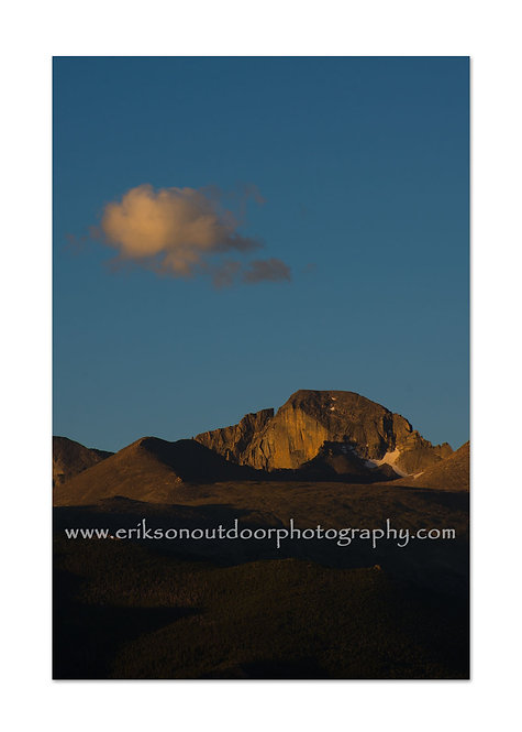 Long's Peak, Rocky Mountains, CO, Cards and Prints