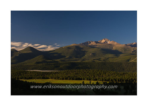 Long's Peak, Rocky Mountain National Park, Colorado, Cards and Prints