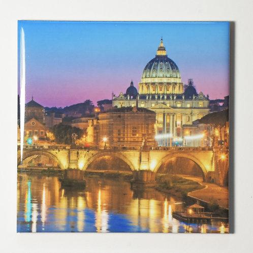 Ceramic Coaster or Trivet - Saint Peter's Basilica, The Vatican