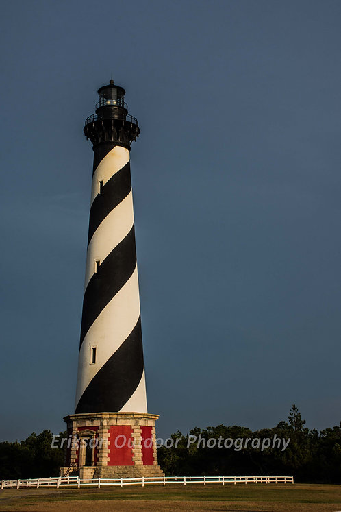 """America's Lighthouse"" Cape Hatteras Lighthouse, Cards and Prints"