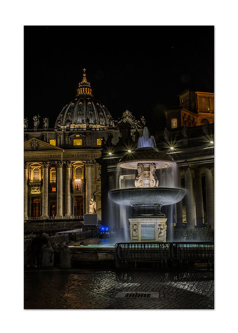 Fountain and St Peters, Cards and Prints