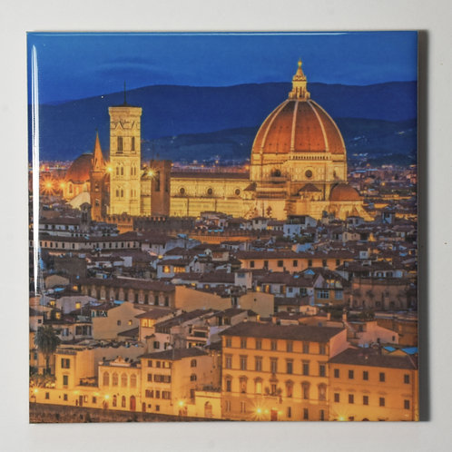 Ceramic Coaster or Trivet - The Duomo, Florence Italy