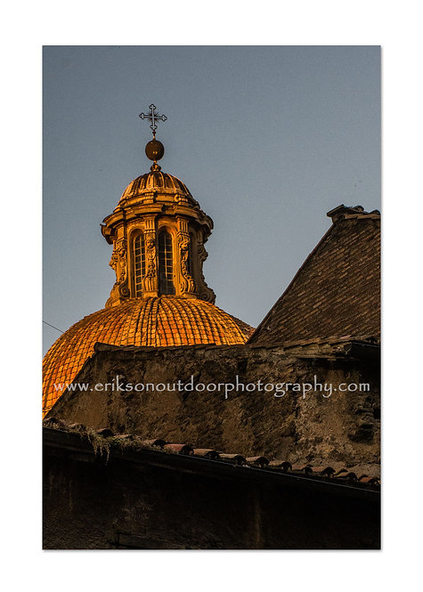 Dome In Rome, Rome, Italy, Cards and Prints