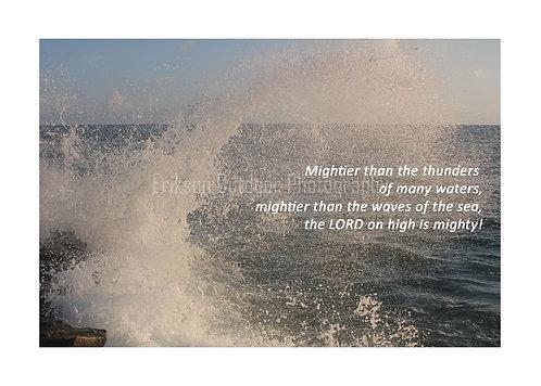 ESV Scripture greeting cards, Psalm 93:4