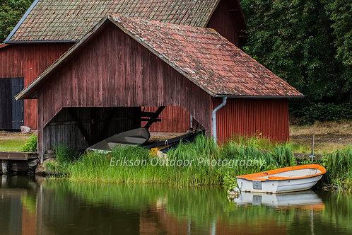 Boat & Boathouse | Sweden | Cards and Prints