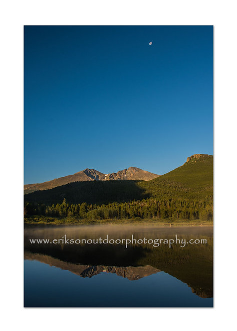 Long's Peak From Lily Lake, Rocky Mountains, CO, Cards and Prints