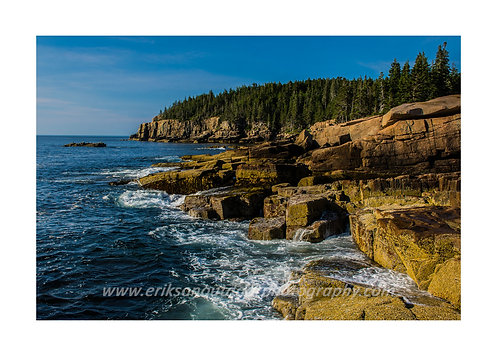 Otter Cliffs, Acadia National Park, Maine, Cards and Prints