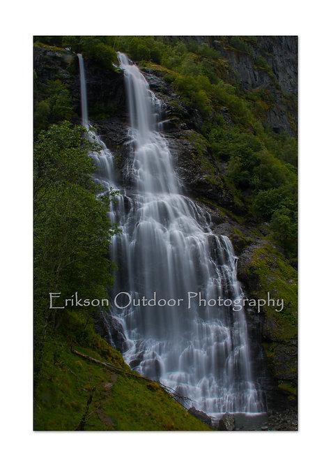 Brekkefossen, Flam, Aurland, Norway, Cards and Prints