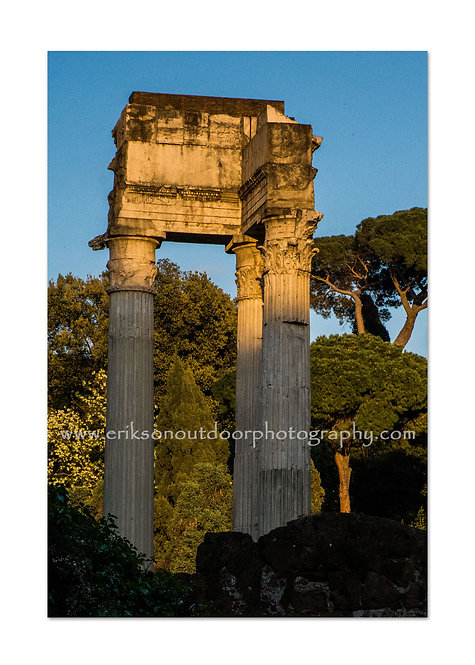 Roman Columns, Italy, Cards and Prints