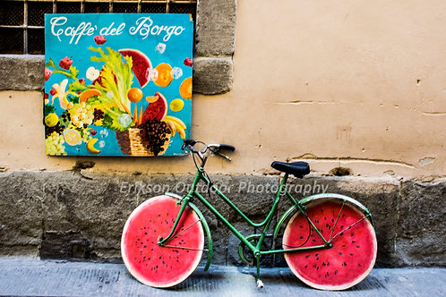 Caffe del Borgo | Coffee of the Village | Florence, Italy | Cards and Prints