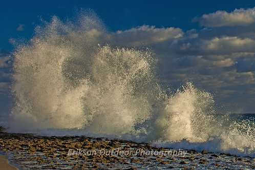 Pounding Surf #2, Singer Island, Florida, Cards and Prints