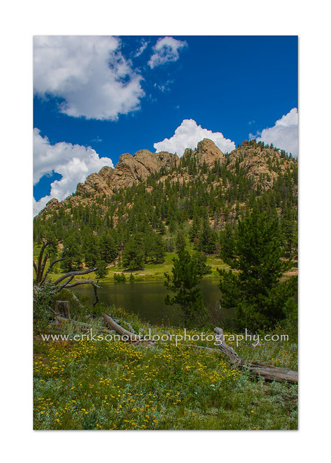 Jurassic Park, Rocky Mountains, CO, Cards and Prints