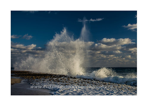 Pounding Surf Singer Island, Cards and Prints