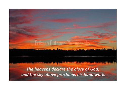 ESV Scripture greeting cards, Psalm 19:1