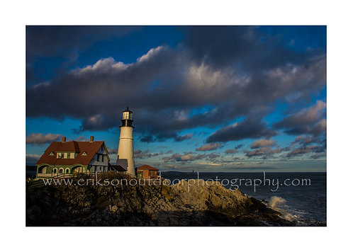 Portland Head Light, Portland Maine, Cards and Prints