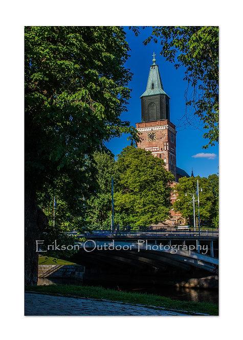 Turku Cathedral, Turku, Finland, Cards and Prints