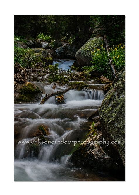 Glacier Gorge, Rocky Mountain National Park, Colorado, Cards and Prints