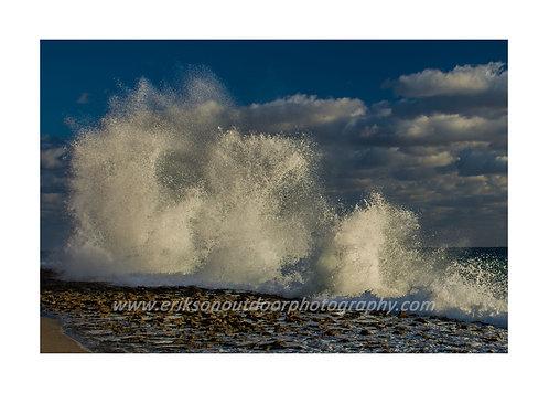 Crashing Waves, Singer Island, Florida, Cards and Prints