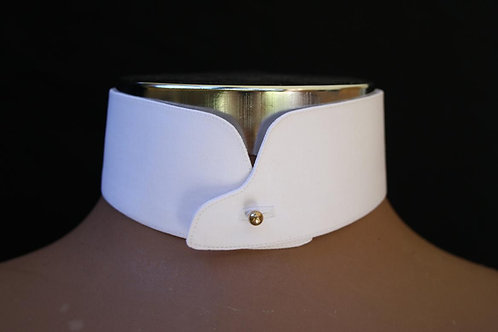 Rounded Stand Collar - low-stand