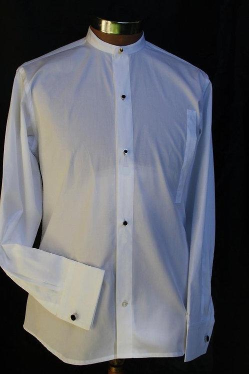 Detachable Bib Front Shirt