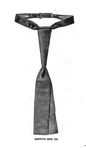 """The """"Harlem"""" teck scarf. The Clothier & Furniture Catalogue, 1894."""