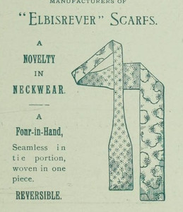 Four-In-Hand. Dry Goods Review, 1892.