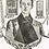 Thumbnail: Oxford Muffler - Brilliant Red Taffeta Moire Full Dress Protector