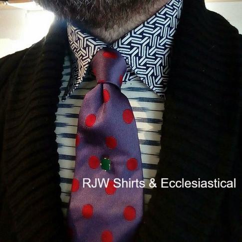 Washable Stiff American Wing Collar
