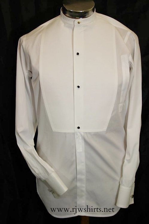 Classic Bib Front Shirt - Casual Fit or Slim fit