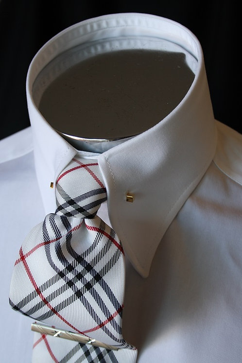 """Pointed Tie Pin Collar 2.75"""""""
