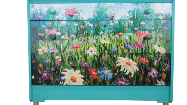 Meadow Flowers Chest