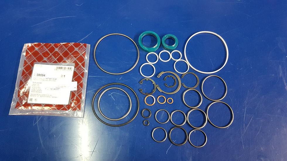 Mercedes W107 & W114 - W123 Power Steer Box Seal Kit - 107 460 00 61, 1074600061